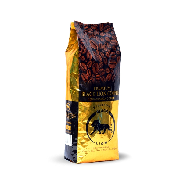 Black Lion Ethopian Dark Roast Beans